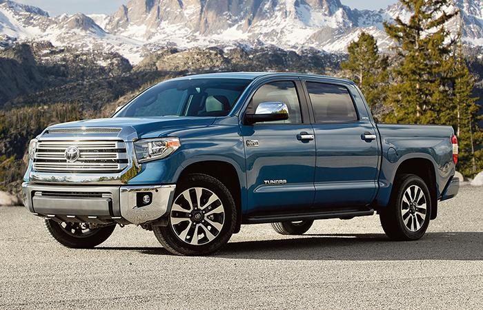 Picture of the 2020 Toyota Tundra