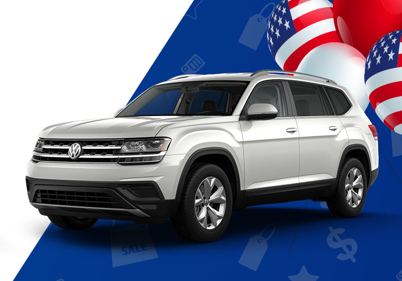 Volkswagen Atlas Lease Offers at South Motors VW in Miami