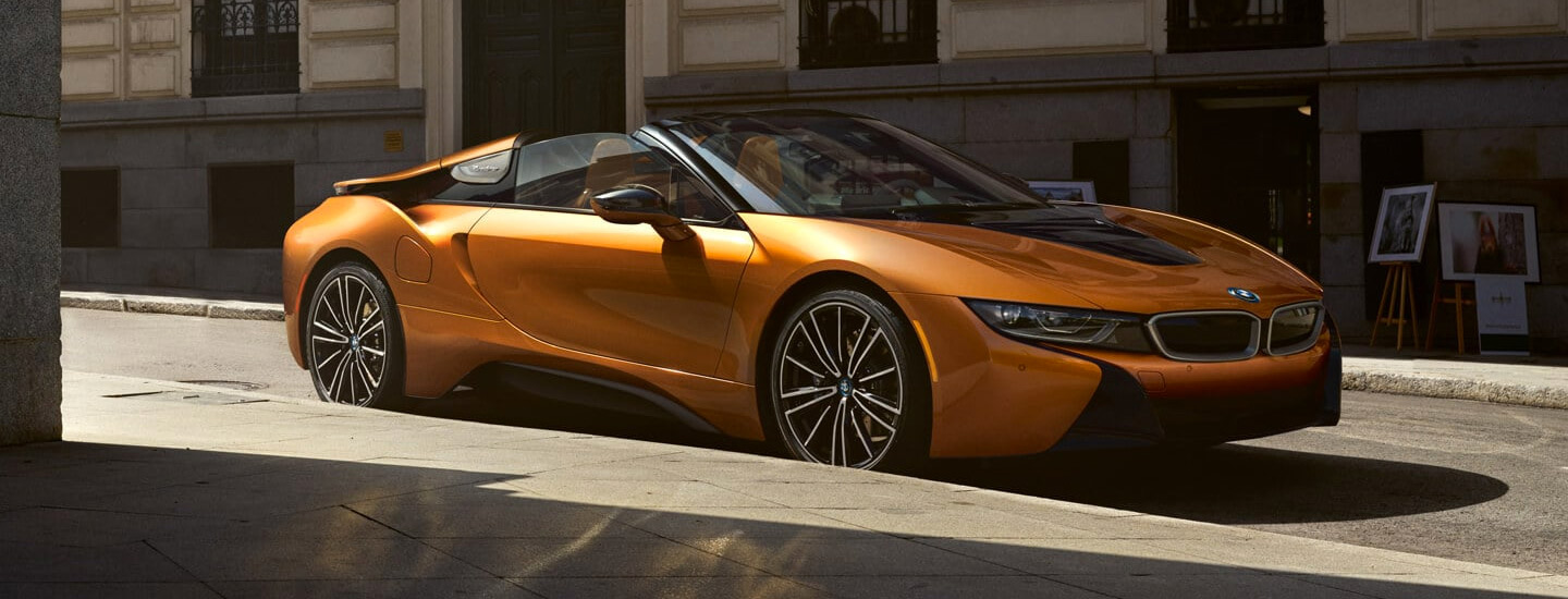 The 2019 BMW i8 is available at Vista BMW Pompano Beach