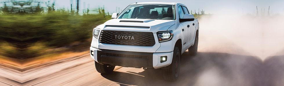 The 2019 Toyota Tundra TRD Pro is available at our Toyota dealership in Columbus, GA