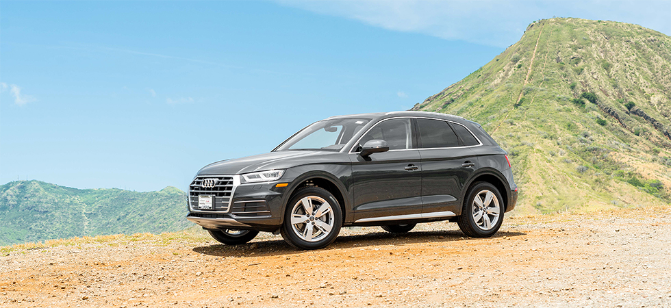 The 2018 Audi Q5 is available at our Audi dealership in Honolulu, HI.