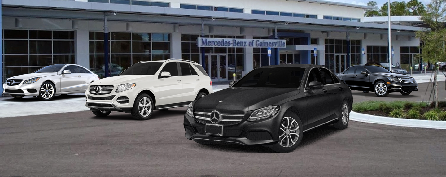 Mercedes-Benz of Gainesville, new and used car dealership offering live market pricing
