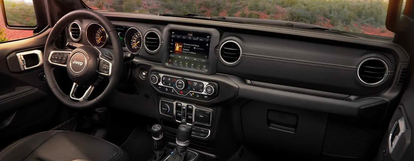 Safety features and interior of the 2018 Jeep Wrangler - available at our Jeep dealership in Chattanooga, TN.