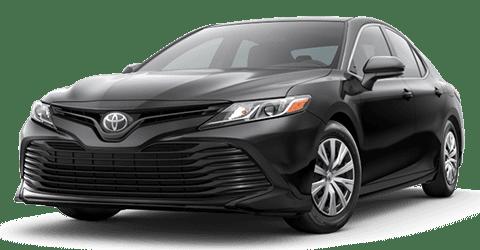 Black 2020 Toyota Camry