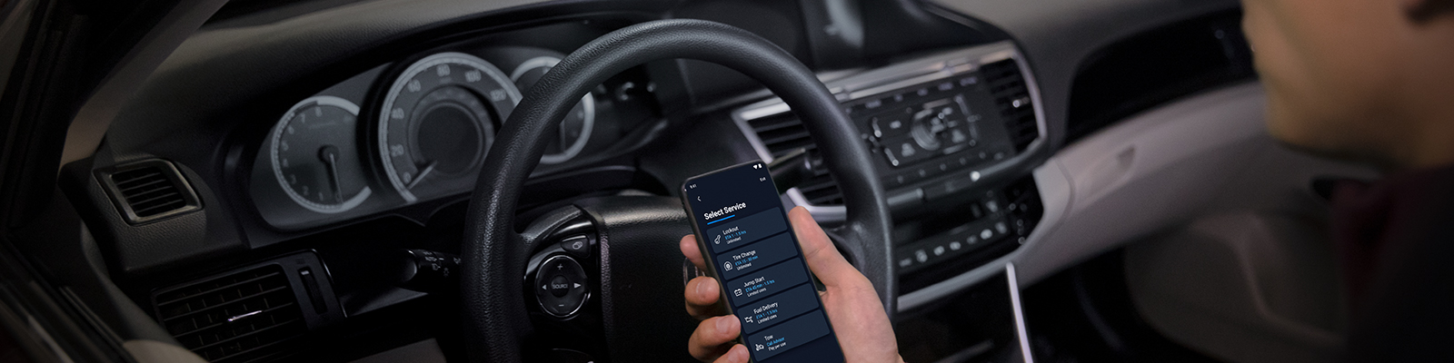 A Chevy driver using the Onstar app