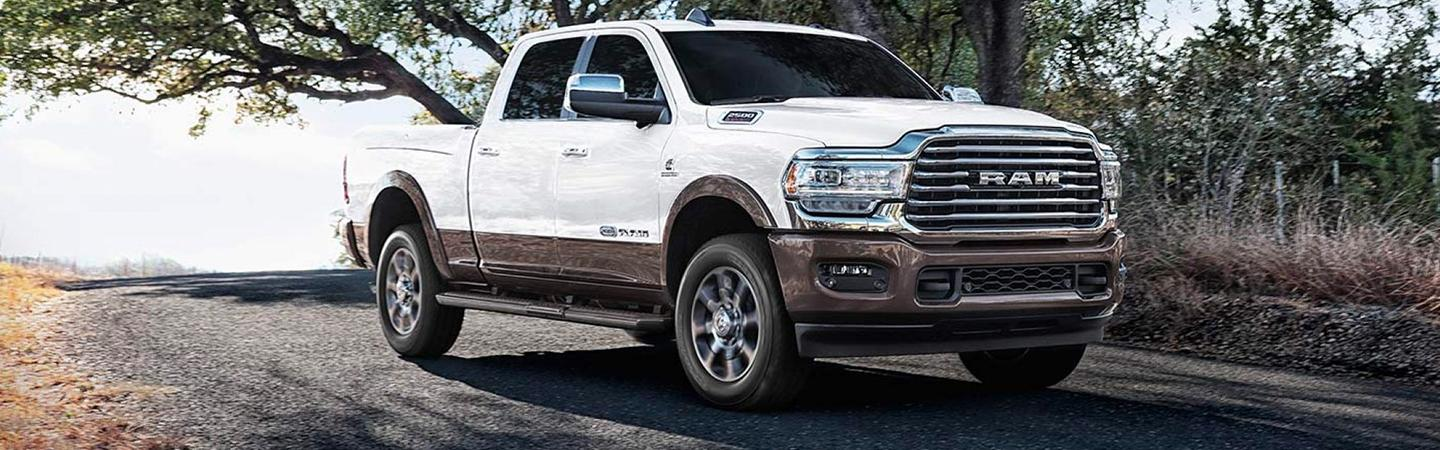 Picture of the 2020 Ram 2500.