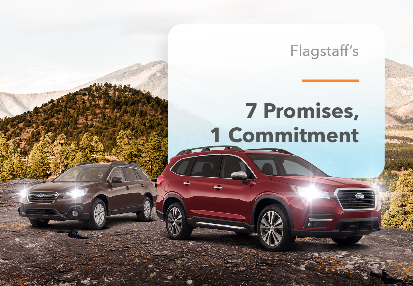 Flagstaff's 7 Promises & 1 Commitment