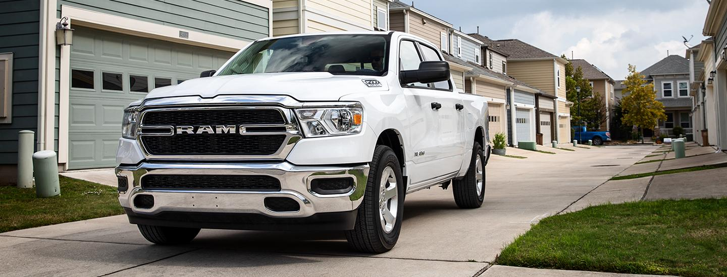 Front view of a 2020 RAM 1500