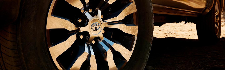 Close image of the 2020 Toyota Tacoma tire
