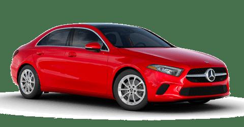 Red 2021 Mercedes-Benz A-Class