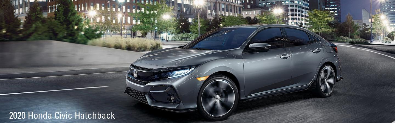 Side view of a 2020 Honda Civic Hatchback