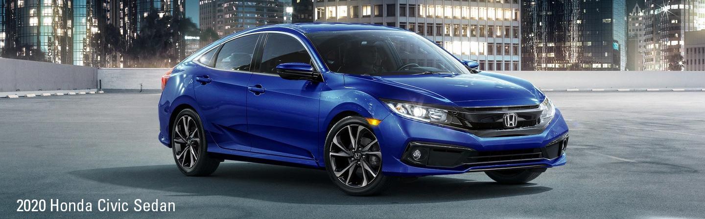 Front view of a 2020 Honda Civic Sedan