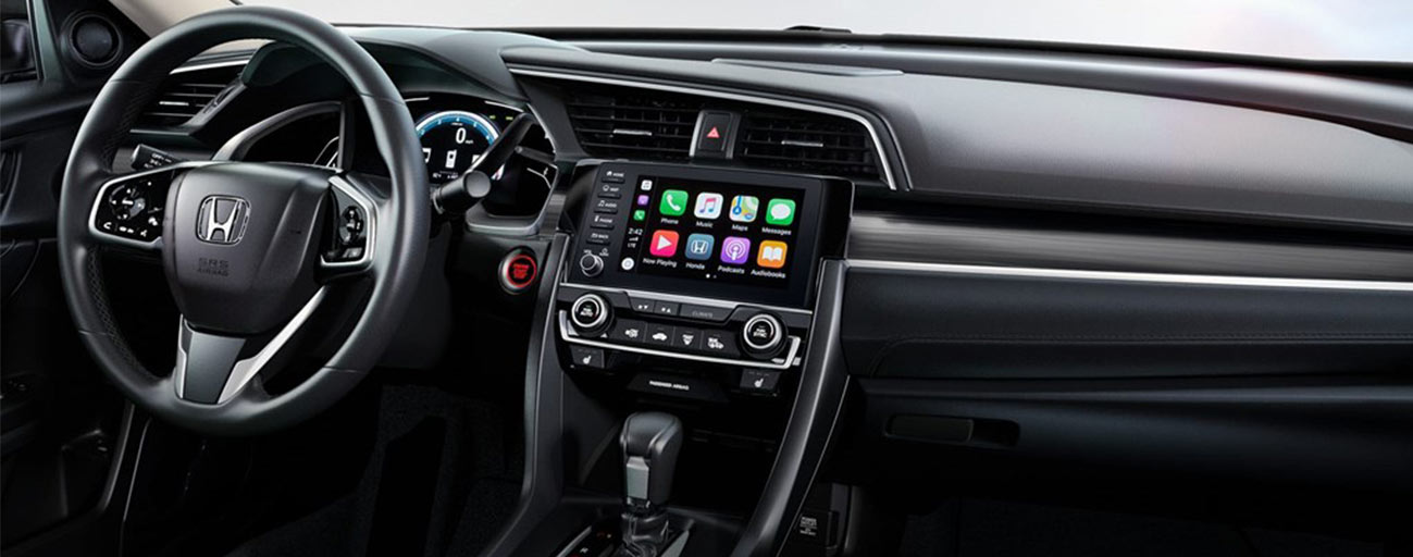 Safety features and interior of the 2019 Honda Civic - available at our Honda dealership near High Springs & Alachua