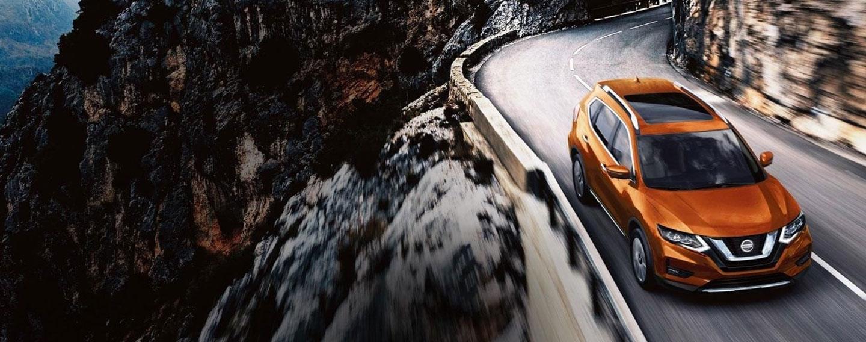 2019 Nissan Rogue Exterior - Driving through the mountains