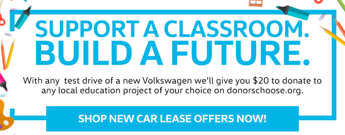 Support A Classroom. Build A Future. | Shop New Car Lease Offers Now!