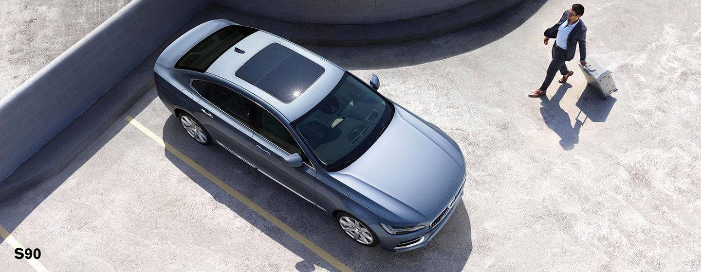 Exterior of the 2019 Volvo S90 - available at our Volvo dealership near St. Petersburg.