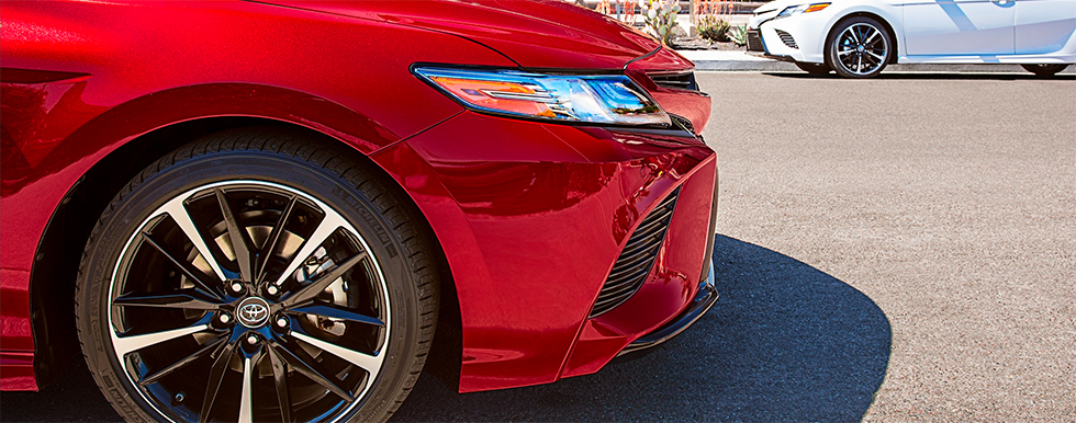2019 Toyota Camry Exterior - Front end - Parked