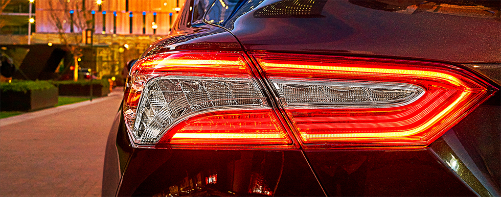 2019 Toyota Camry Exterior - Tail Light and Trunk