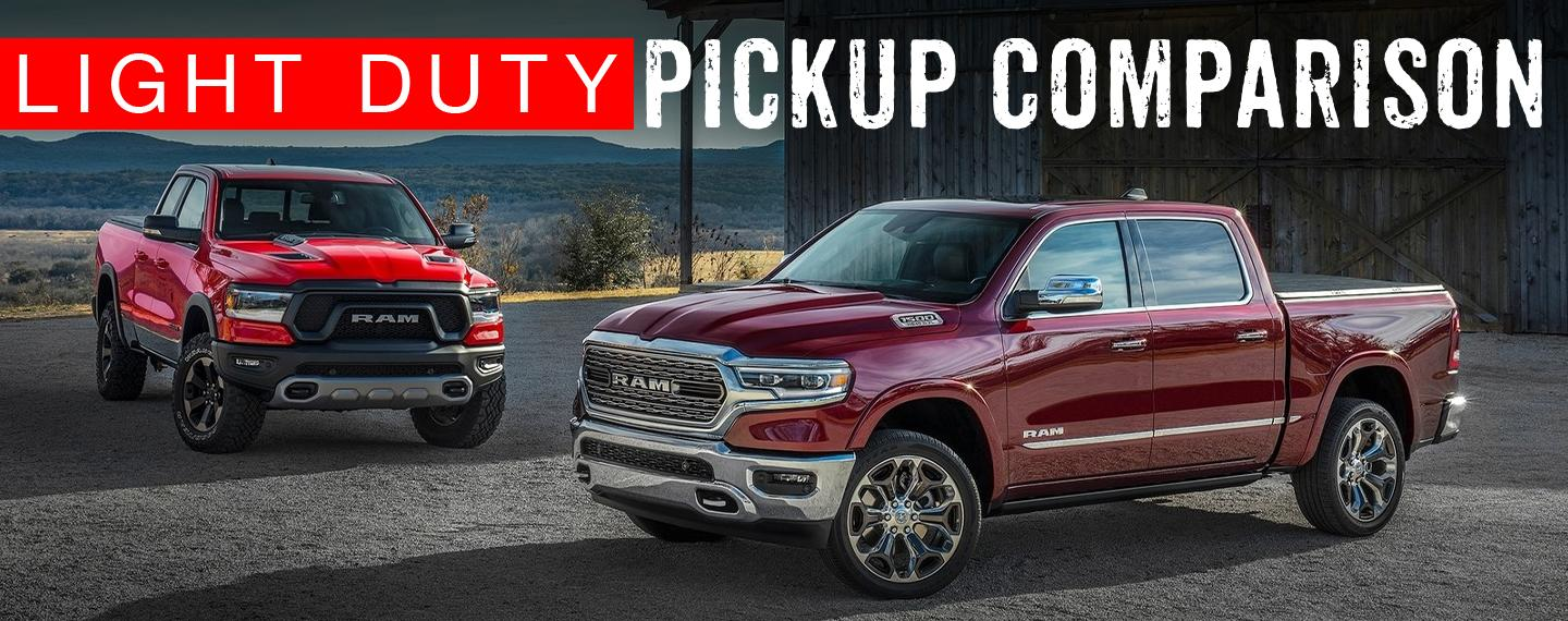 RAM 1500 - Light Duty Pickup Comparison