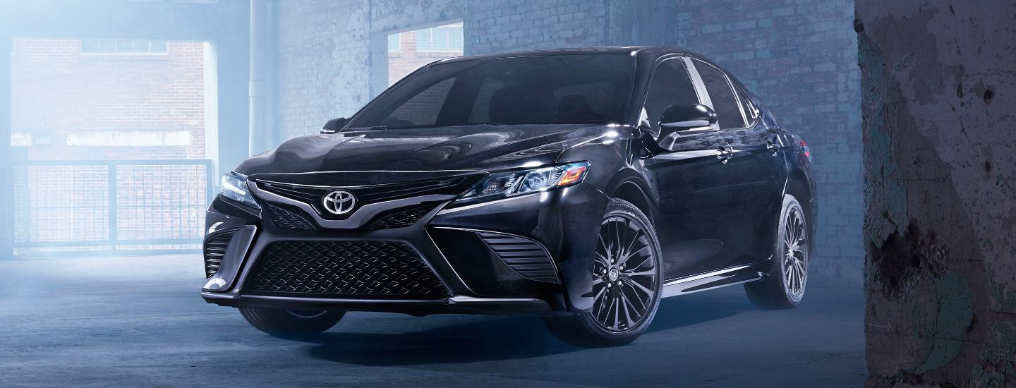 2020 Toyota Camry parked