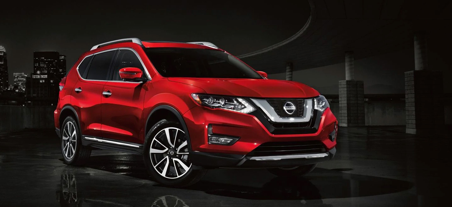 The 2019 Nissan Rogue is available at our Nissan dealership near Oklahoma City, OK.