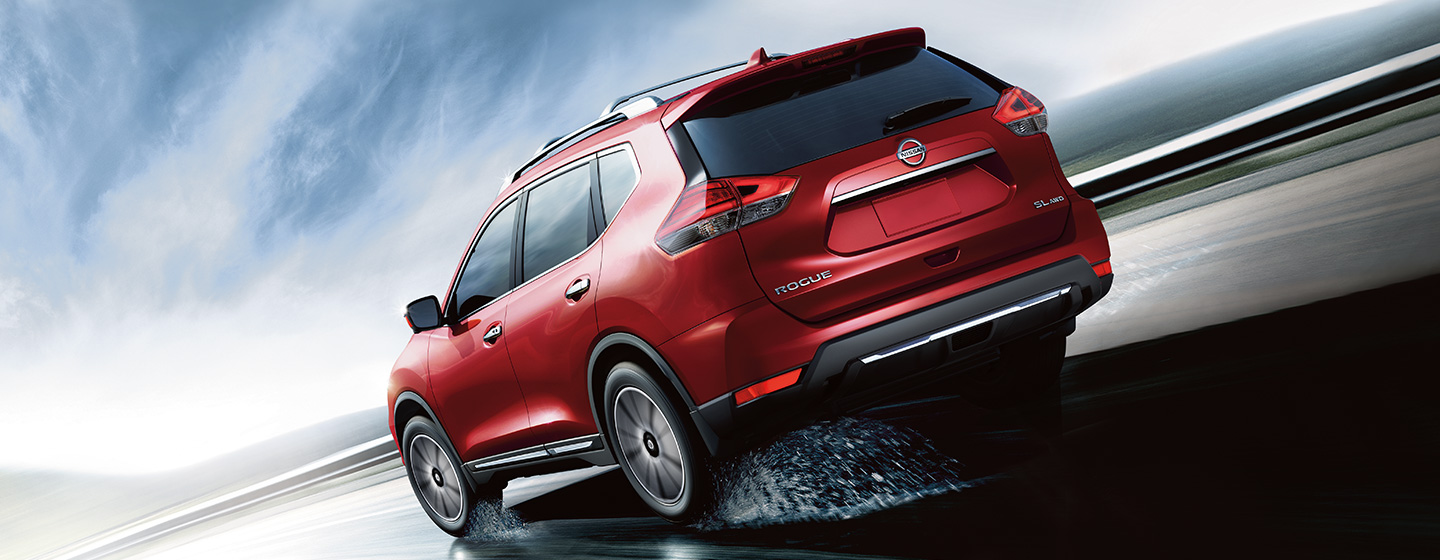 Exterior image of the 2019 Nissan Rogue available at Bob Moore Nissan.