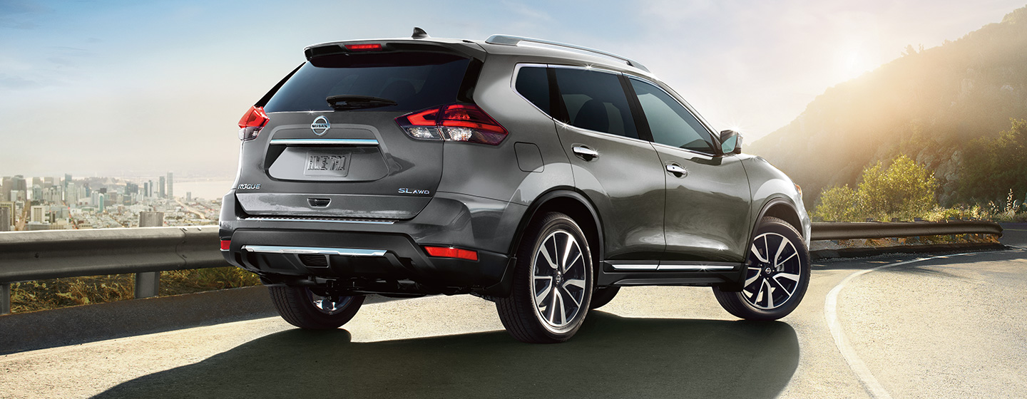 Exterior of the 2019 Nissan Rogue available at our Nissan dealership in Flagstaff, AZ