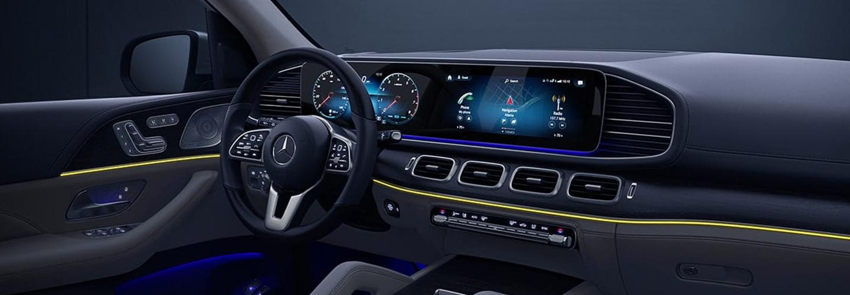 Interior of the 2020 Mercedes-Benz GLS