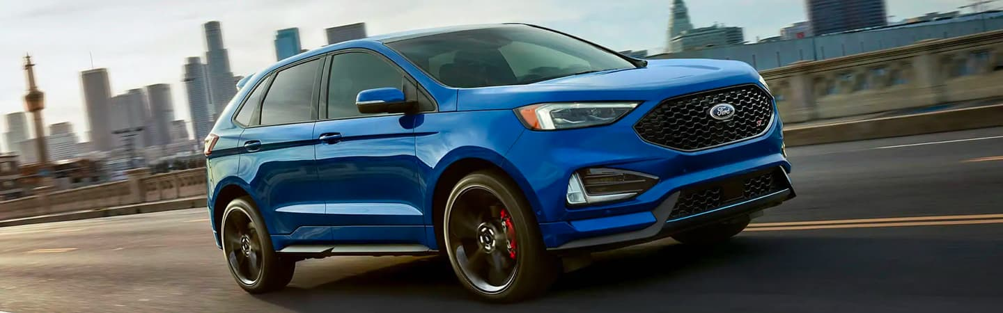 Exterior of the 2019 Ford Edge available at Al Packers White Marsh Ford