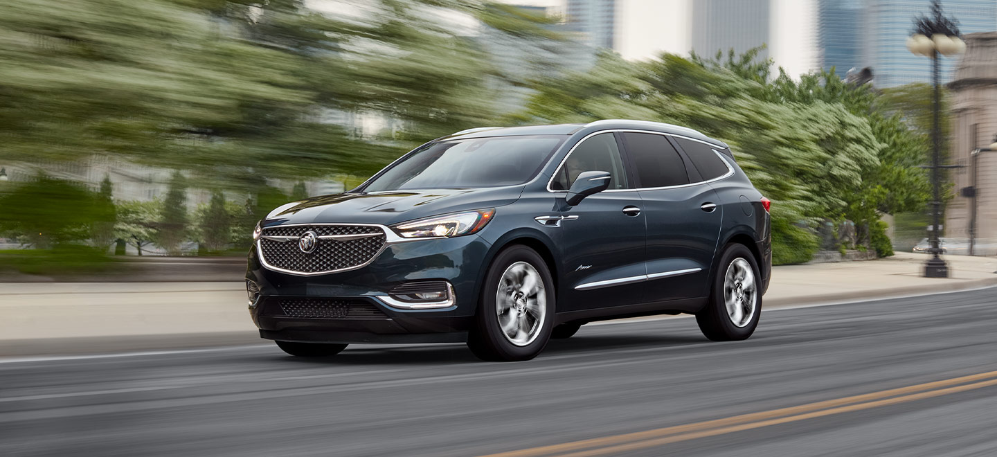Exterior of Buick in motion available at Gainesville Buick GMC in Gainesville, FL