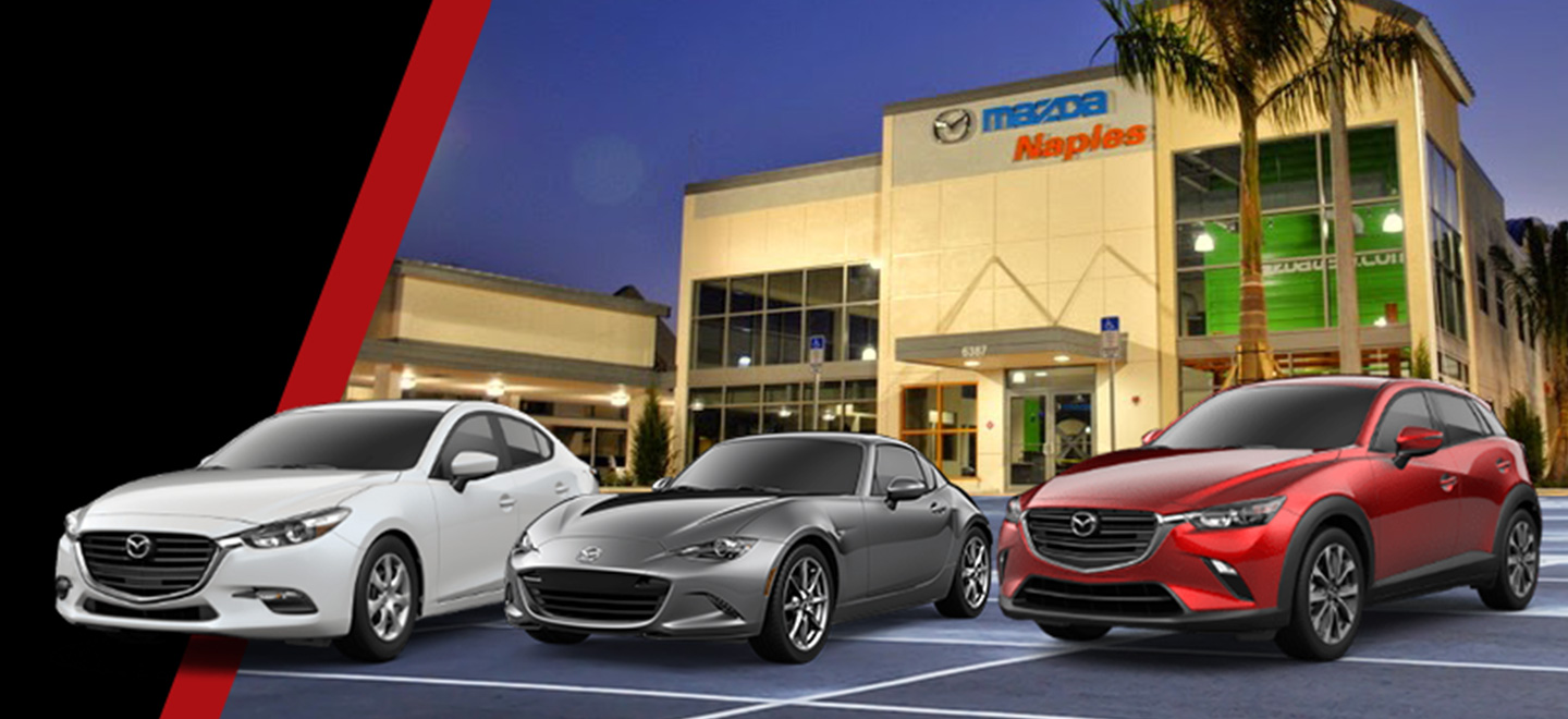 Naples Mazda, New and Pre-Owned dealership offering car leases and loans in Naples, FL