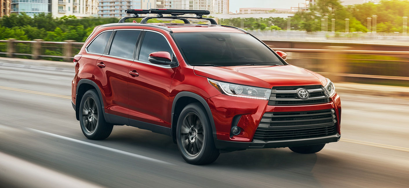 The 2019 Toyota Highlander is available at our Toyota dealership in Columbus, GA