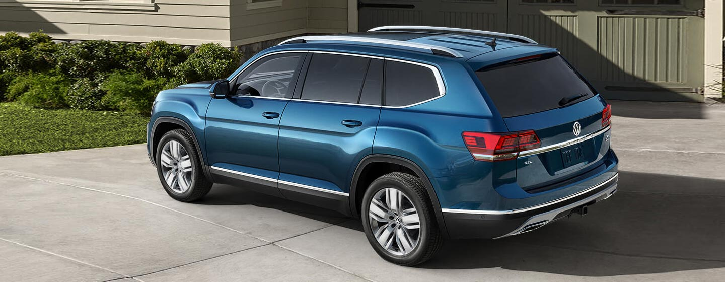 Overhead view of the 2019 Volkswagen Atlas available at Volkswagen of Gainesville