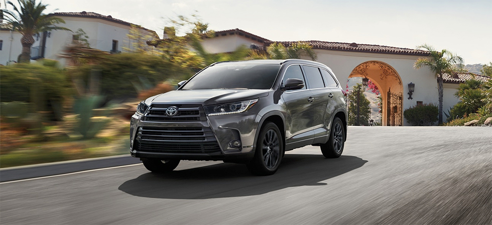 New features of the 2019 Toyota Highlander at Rivertown Toyota in Columbus, GA.