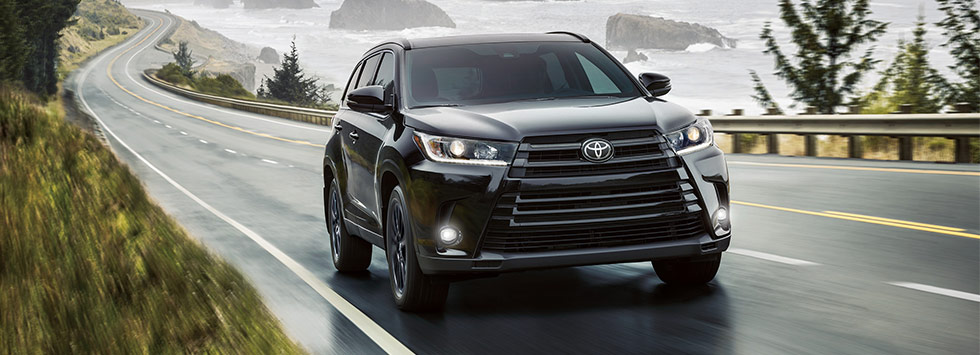 The 2019 Toyota Highlander is available at our Toyota dealership in Columbus, OH.