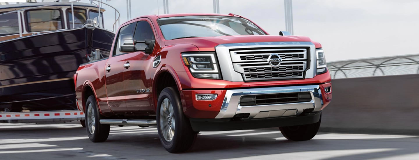 2020 Nissan TITAN for sale at Wesley Chapel Nissan in Wesley Chapel FL.
