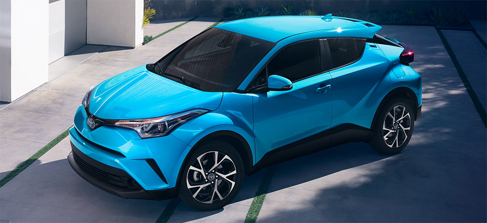 The 2019 Toyota C-HR is available at Rountree Moore Toyota dealership in Lake City.