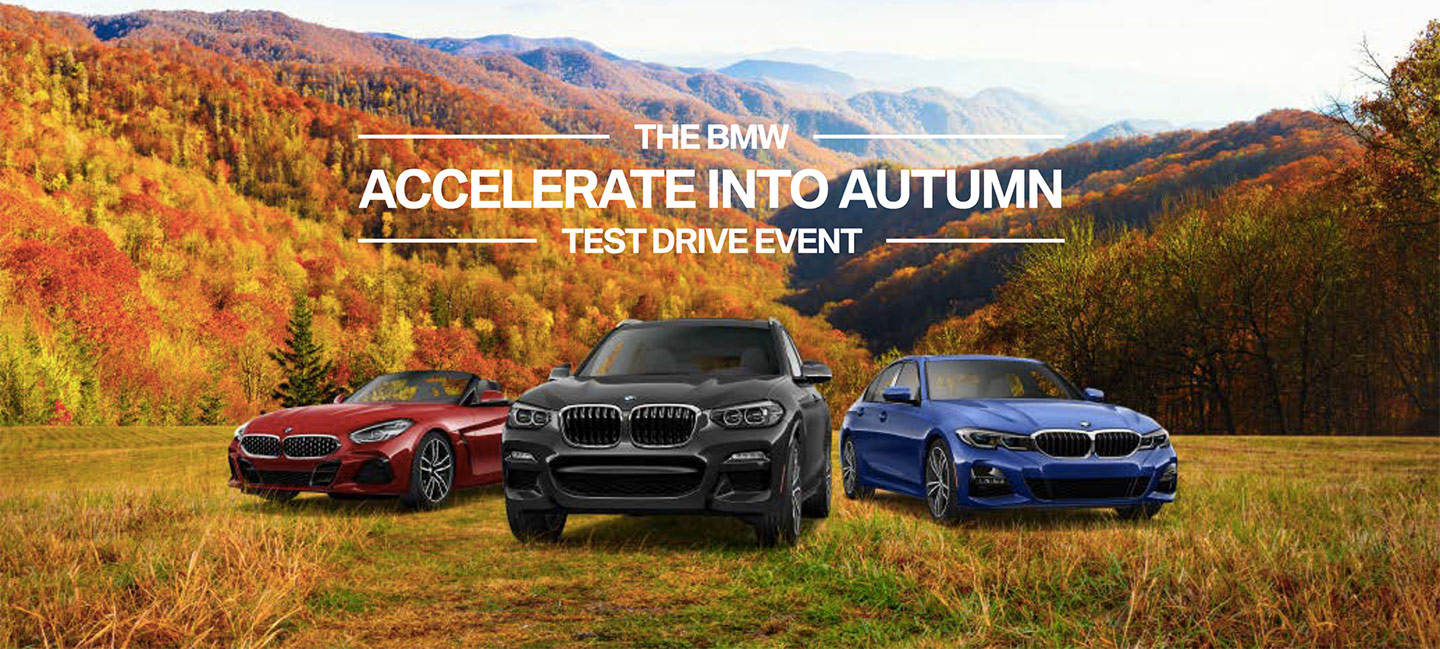 The BMW Accelerate Into Autumn Test Drive Event