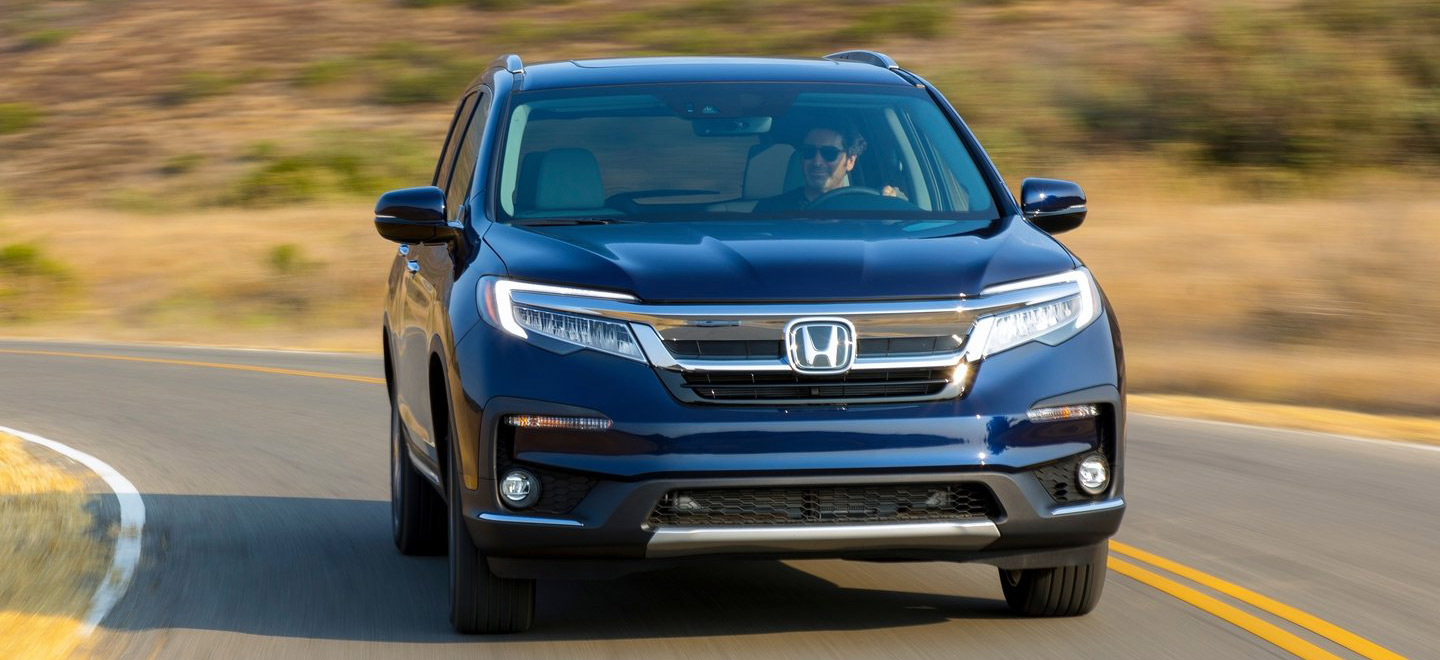 The 2019 Honda Pilot is available at our Honda dealership in Fort Myers, FL.