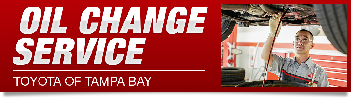 Oil Change Service At Toyota Of Tampa Bay