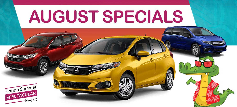 Honda of Gainesville Specials