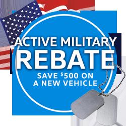 Active Military Rebate