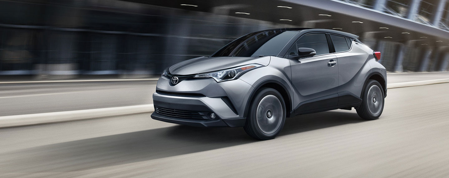 Picture of the Exterior of the 2019 Toyota C-HR is for sale at our Toyota dealership Lake City.