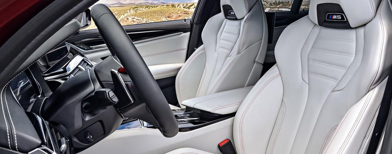 BMW M5 Interior - Seats