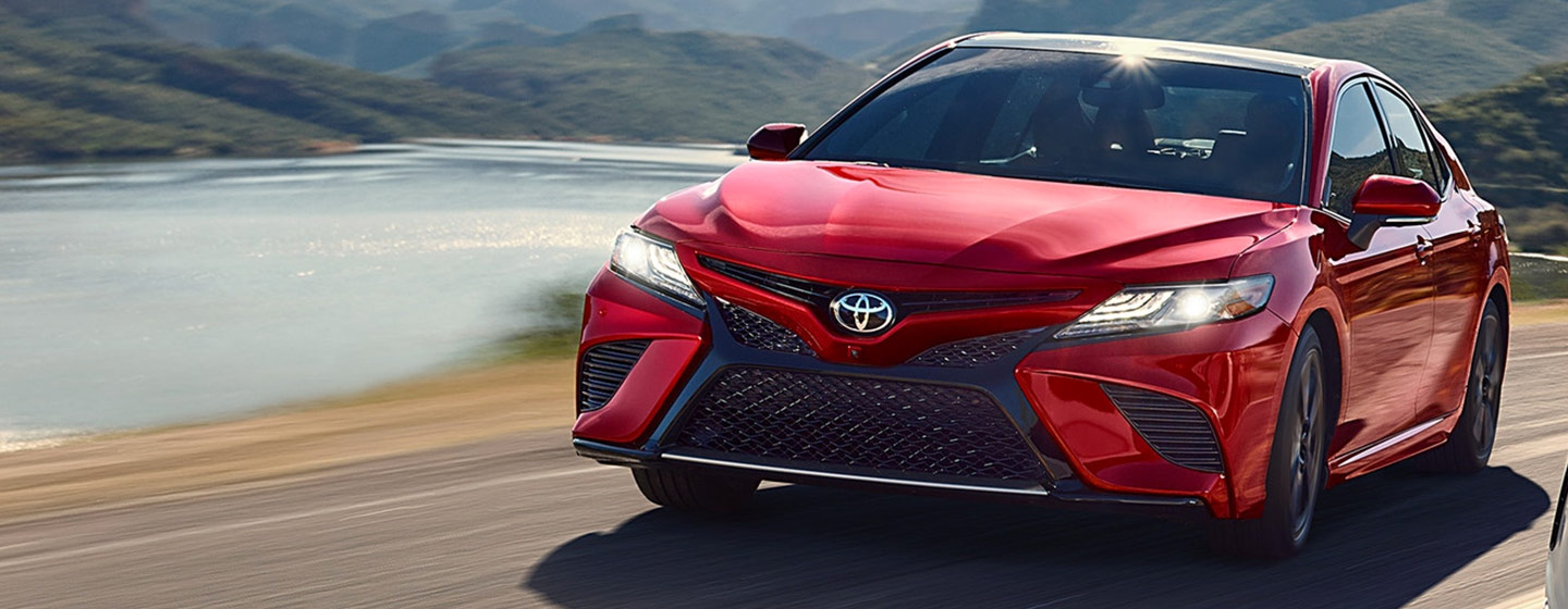 2019 Toyota Camry Exterior - driving on the road