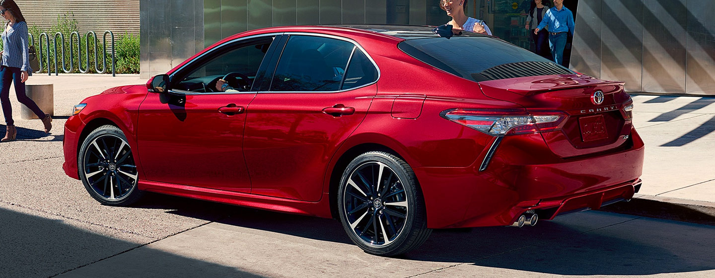 2019 Toyota Camry Exterior - Parked on the road