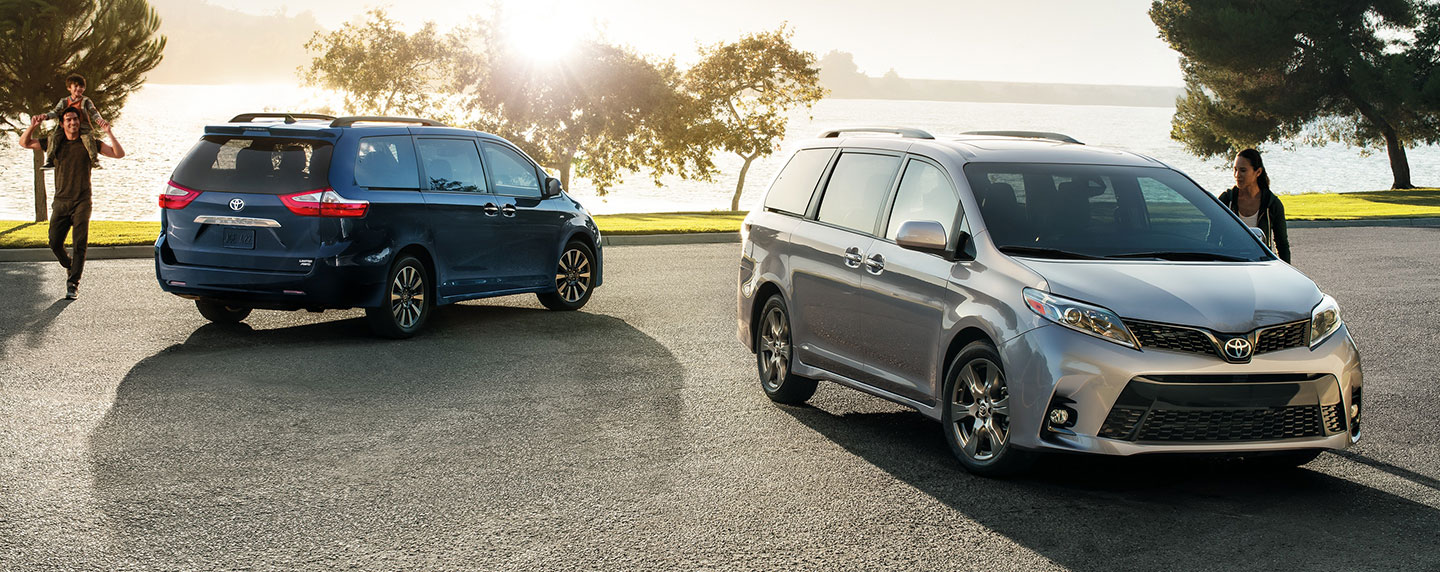 Picture of the Exterior of the 2019 Toyota sienna – for sale at our Toyota dealership in lake city FL.