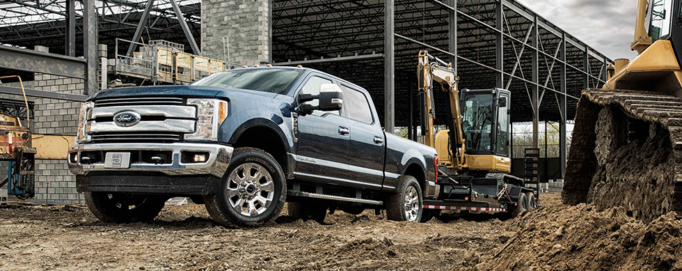 ford f-250 towing