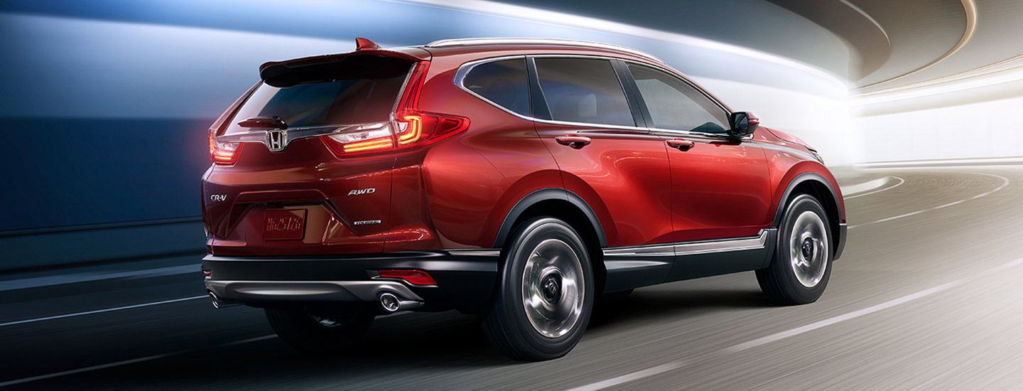 2019 Honda CR-V in motion near Honda of Gainesville