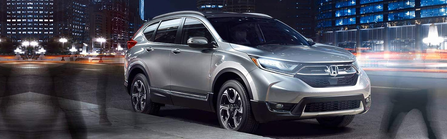 Side view of the 2019 Honda CR-V